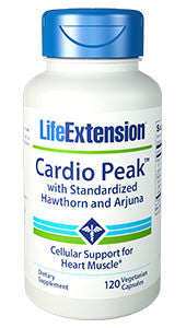 Life Extension Cardio Peak™ with Standardized Hawthorn and Arjuna