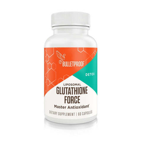 Bulletproof Supplements Upgraded Glutathione Force 60 capsules