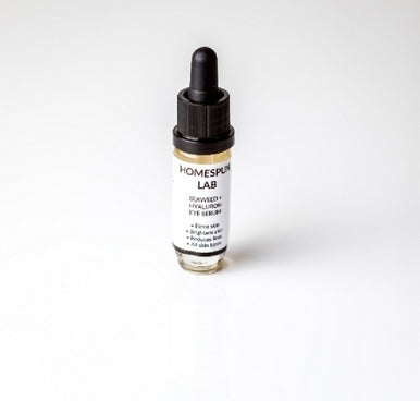 Homespun SEAWEED+HYALURONIC EYE SERUM