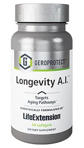 Life Extension GEROPROTECT™ Longevity A.I.™ 30 softgels