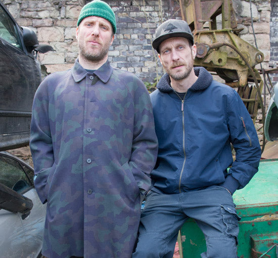 Sleaford Mods Breakers Yard Photoshoot