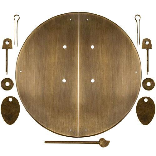 Classic Round Cabinet Face Plate-Chinese Brass Hardware