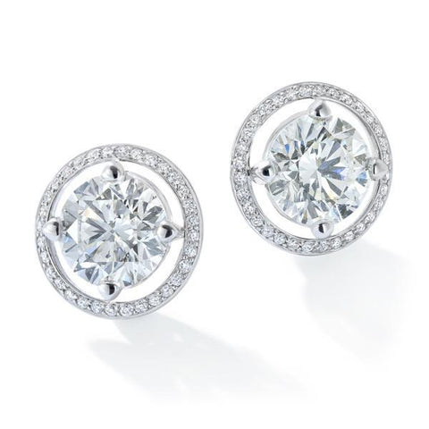 FOREVERMARK™  Solitaire Stud Earrings