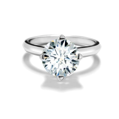 FOREVERMARK™  Solitaire Ring