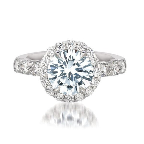 FOREVERMARK™  Halo Ring