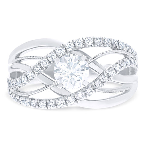 FOREVERMARK™ WAVE RING
