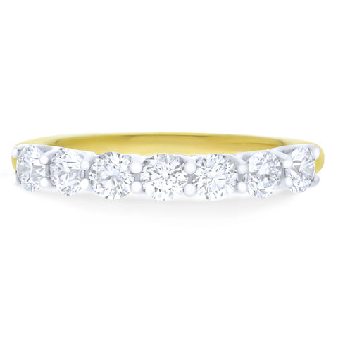 FOREVERMARK™ SEVEN DIAMOND RING