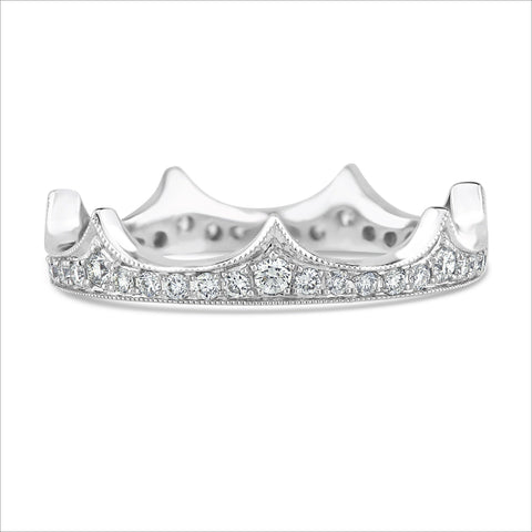 Beverley K Diamond Crown Ring