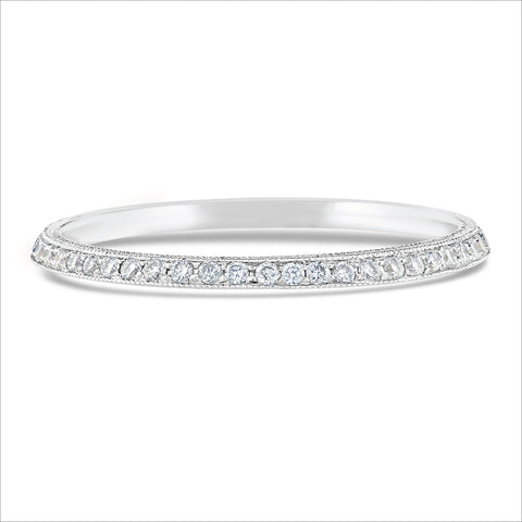 Beverley K Half Knife Edge Diamond Band
