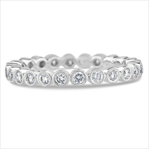 Beverley K Bezel Set Diamond Band