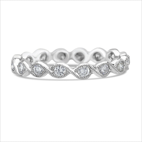 Beverley K Twist Diamond Band