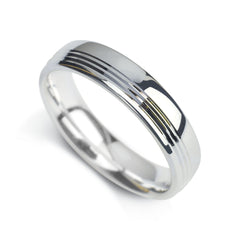 Gents Wedding Band Design 1