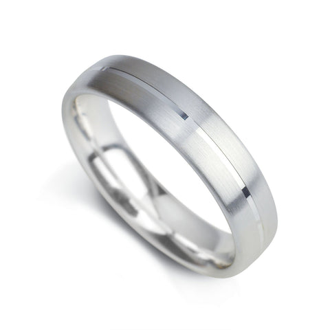 Gents Wedding Band Design 5