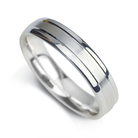 Gents Wedding Band Design 6
