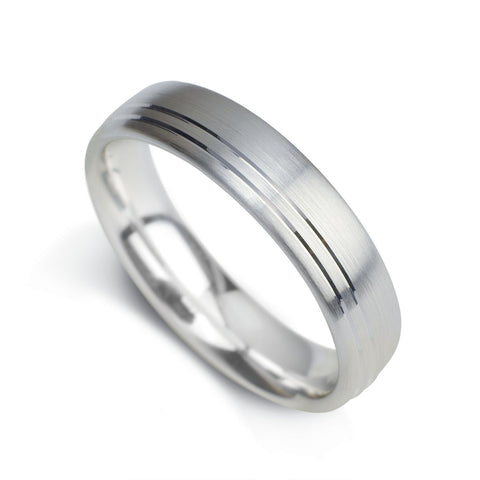 Gents Wedding Band Design 12