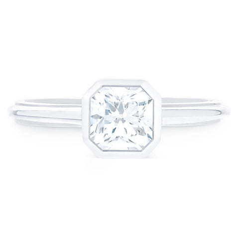 FOREVERMARK™ BEZEL DIAMOND RING