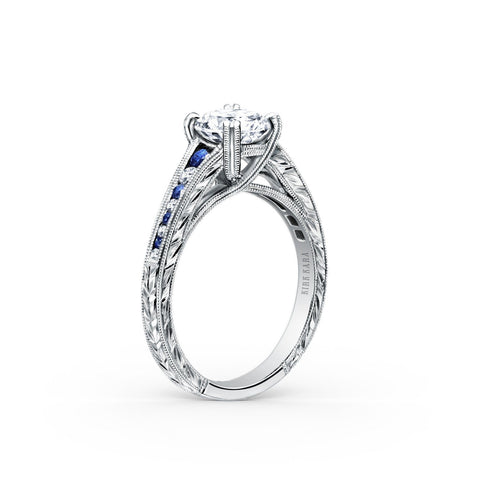 Kirk Kara Stella K1140BDC-R - R Finger Size, 18ct-white-gold Metal, 0.32 Ct Diamond (97839850)