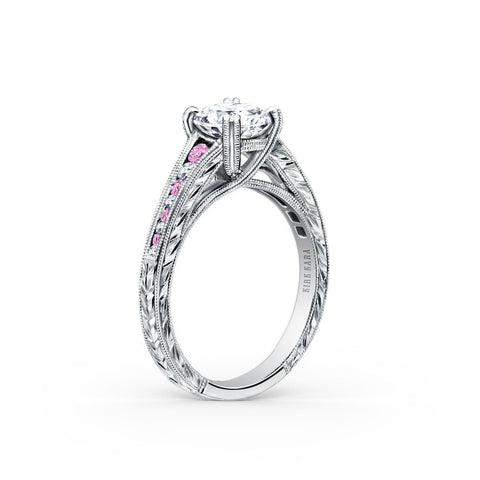 Kirk Kara Stella K1140VDC-R - J Finger Size, 18ct-white-gold Metal, 0.3 Ct Diamond (101693742)
