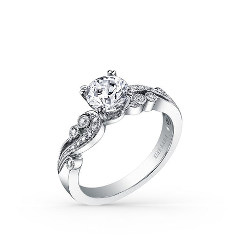 KIRK KARA ANGELIQUE K1250DC-R - G Finger Size, 18ct-white-gold Metal, 0.7 Ct Diamond (115883054)