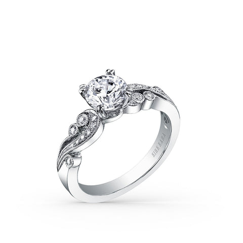 KIRK KARA ANGELIQUE K1250DC-R - G Finger Size, platinum Metal, 0.6 Ct Diamond (82513286)