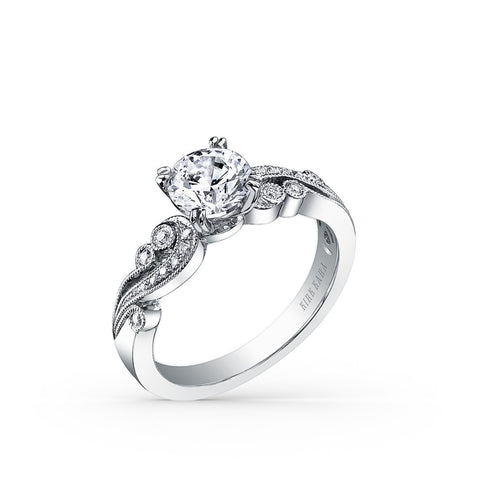 KIRK KARA ANGELIQUE K1250DC-R - L Finger Size, 18ct-white-gold Metal, 0.4 Ct Diamond (97477815)