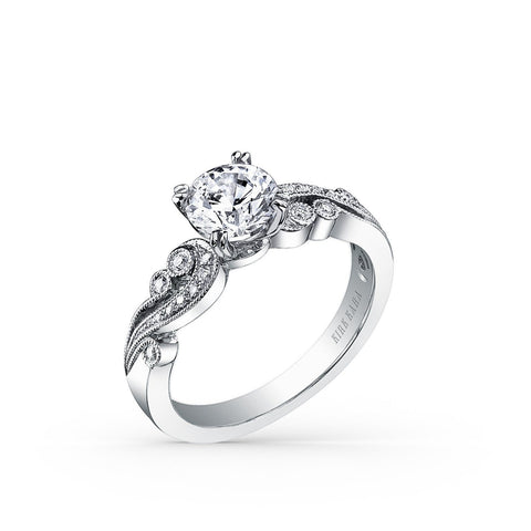 KIRK KARA ANGELIQUE K1250DC-R - P Finger Size, platinum Metal, 2.01 Ct Diamond (84090296)
