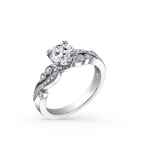 KIRK KARA ANGELIQUE K1250DC-R - K Finger Size, platinum Metal, 0.9 Ct Diamond (99438017)