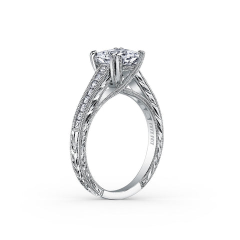 KIRK KARA STELLA K1341DC-R - M Finger Size, 18ct-white-gold Metal, 0.7 Ct Diamond (86298248)