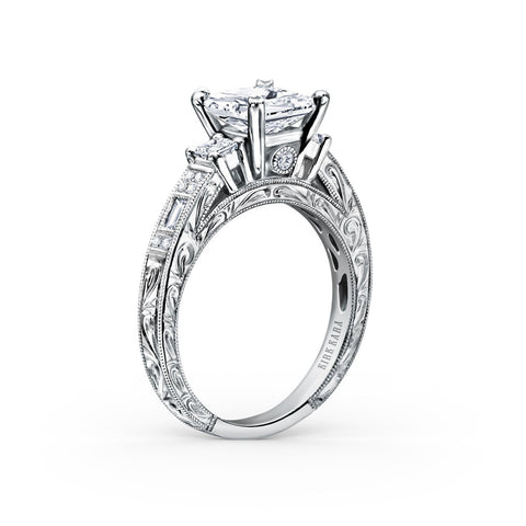 KIRK KARA CHARLOTTE K1383-R - L Finger Size, 18ct-yellow-gold Metal, 0.36 Ct Diamond (90629956)