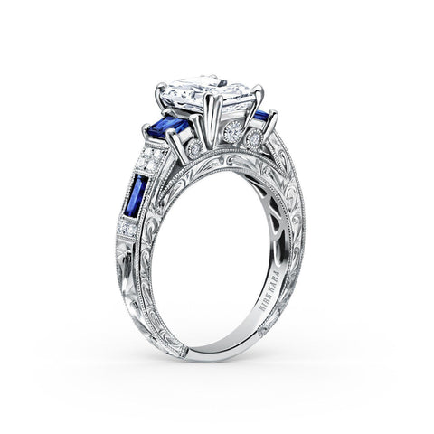 KIRK KARA CHARLOTTE K1384SDE-R - P Finger Size, 18ct-white-gold Metal, 0.96 Ct Diamond (113177964)