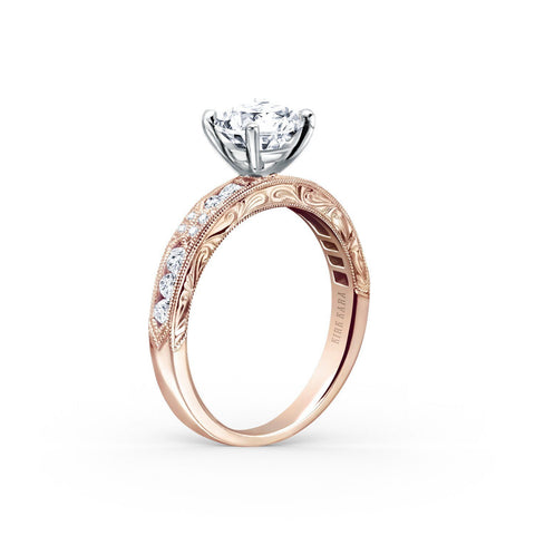 KIRK KARA CHARLOTTE K1390D-RR - I Finger Size, 18ct-rose-gold Metal, 0.54 Ct Diamond (96766972)