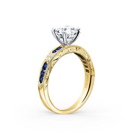 KIRK KARA CHARLOTTE K1390SD-RY - G Finger Size, 18ct-white-gold Metal, 0.3 Ct Diamond (85962627)
