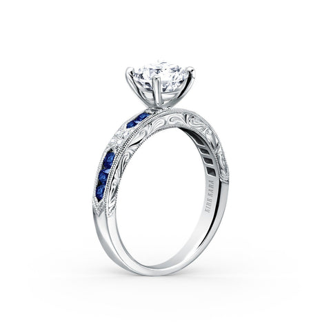 KIRK KARA CHARLOTTE K1390SD-R - M Finger Size, 18ct-white-gold Metal, 1.01 Ct Diamond (122076778)