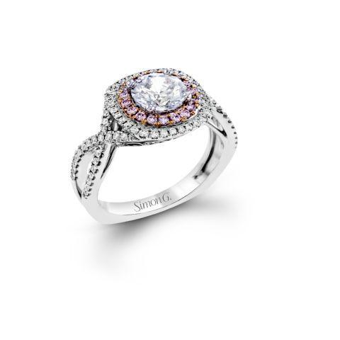ESQUISITE PINK DIAMOND HALO
