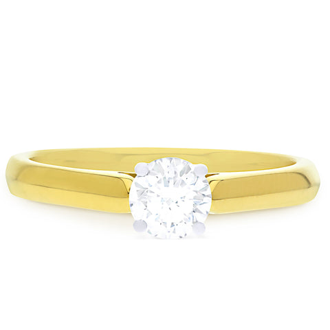 FOREVERMARK™ PETITE DIAMOND RING