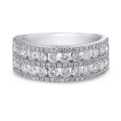 Five Row Round Dress Ring