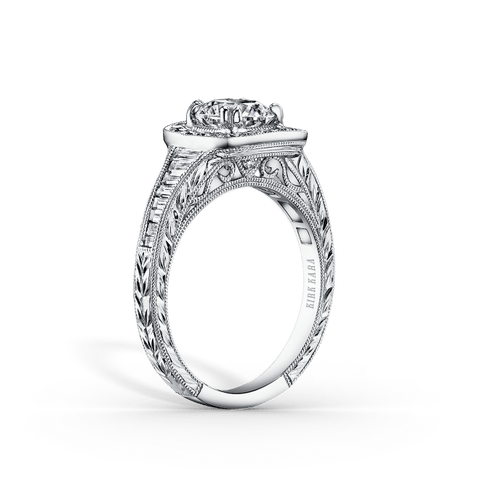 Kirk Kara Carmella K1160DC-R - G Finger Size, 18ct-yellow-gold Metal, 0.25 Ct Diamond (91629956)