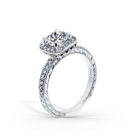 KIRK KARA CARMELLA K1450DC-R - G Finger Size, 18ct-yellow-gold Metal, 0.3 Ct Diamond (109325420)