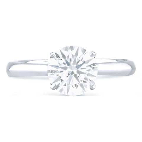 Hamptons - G Finger Size, platinum Metal, 0.5 Ct Diamond (116449853)