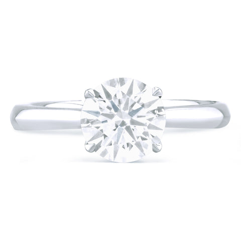 Hamptons - G Finger Size, platinum Metal, 0.3 Ct Diamond (82405393)