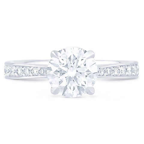 Hamptons Pave - H Finger Size, platinum Metal, 0.5 Ct Diamond (88108520)
