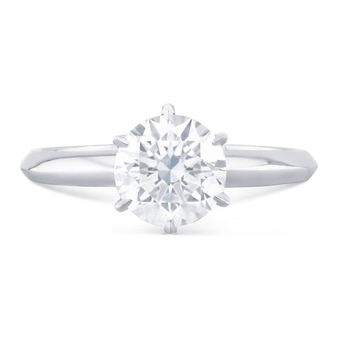 Capri - G Finger Size, platinum Metal, 1.01 Ct Diamond (81609754)