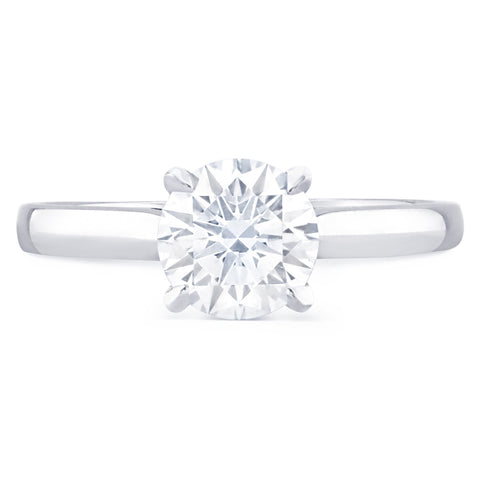 St Tropez - K Finger Size, platinum Metal, 0.46 Ct Diamond (118749050)