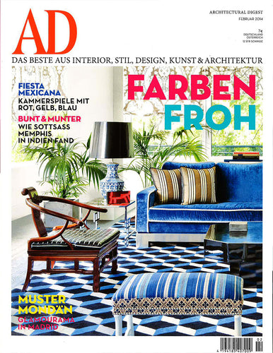 Architectural Digest Feb 2014