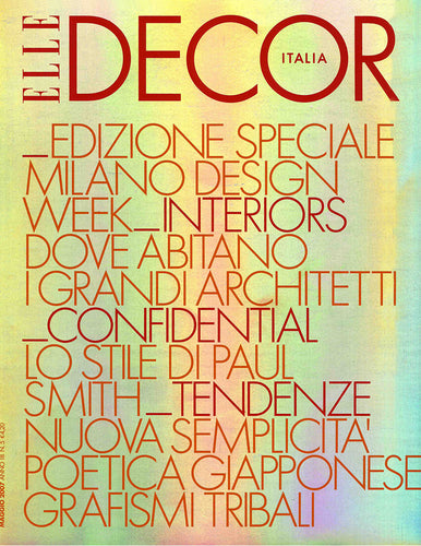 Elle Decor Italia 2007