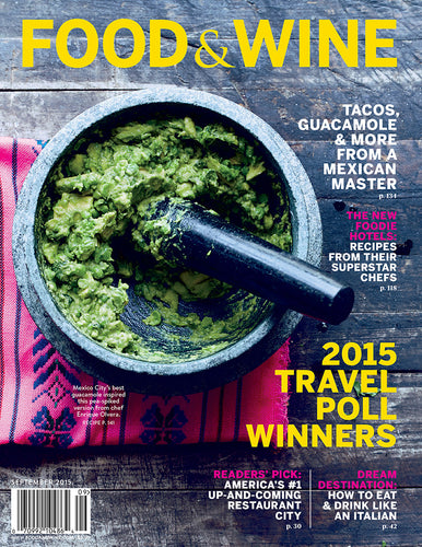 Food & Wine Sep 2015