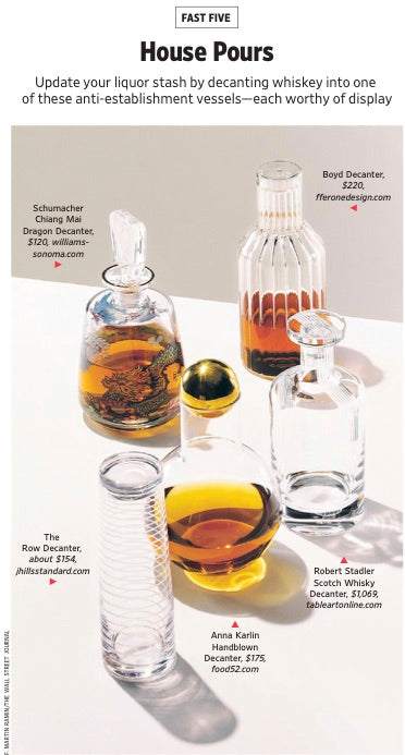 fferrone boyd decanter wsj wall street journal