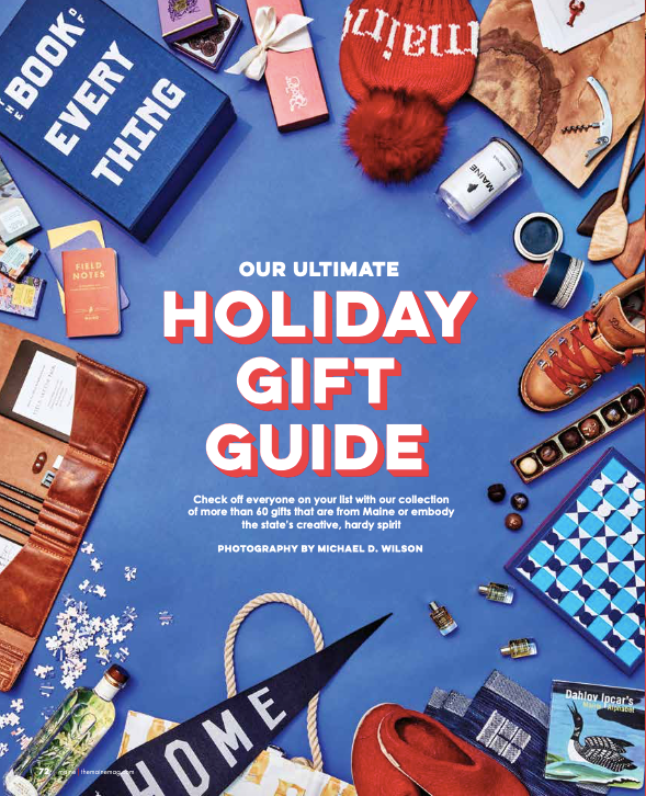 Holiday Gift Guide Maine The Magazine - fferrone