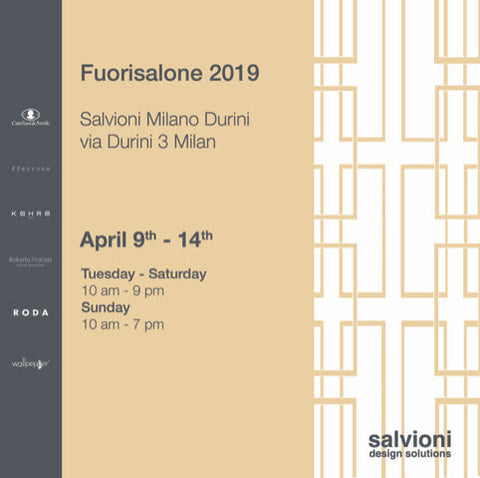 fferrone at Salvioni during Milan's Design Week.