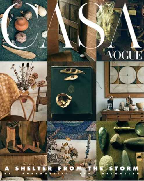Casa Vogue Cover October 2019 fferrone